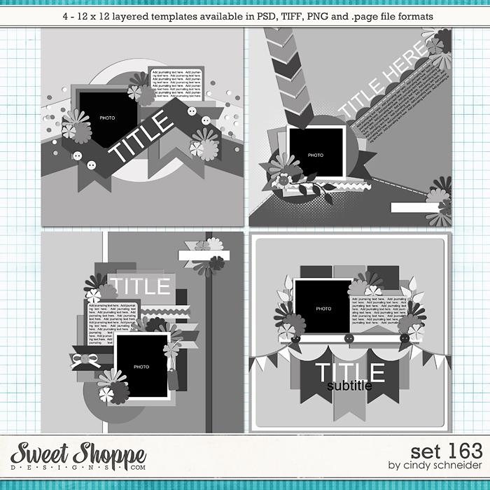 Cindy's Layered Templates - Set 163 by Cindy Schneider