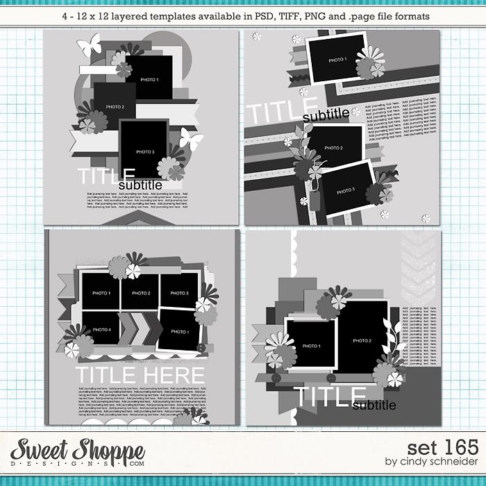 Cindy's Layered Templates - Set 165 by Cindy Schneider