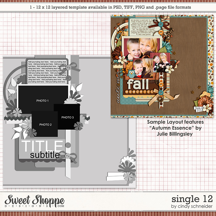 Cindy's Layered Templates - Single #12 by Cindy Schneider