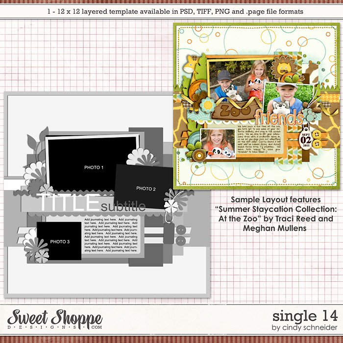 Cindy's Layered Templates - Single #14 by Cindy Schneider