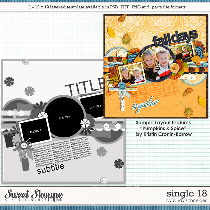 Cindy's Layered Templates - Single 18 by Cindy Schneider