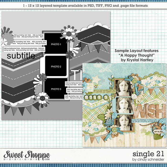 Cindy's Layered Templates - Single 21 by Cindy Schneider