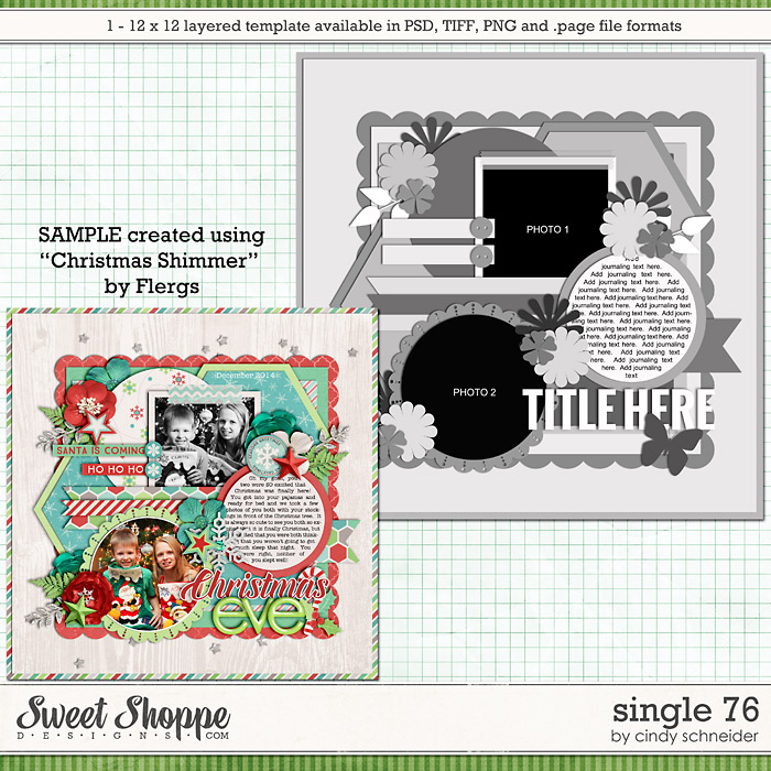 Cindy's Layered Templates - Single 76 by Cindy Schneider