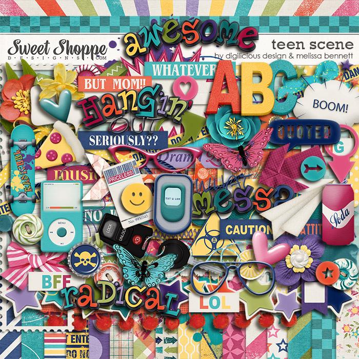 Teen Scene by Digilicious Design & Melissa Bennett