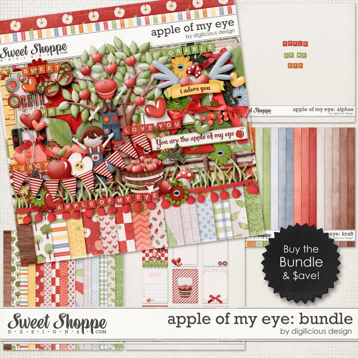 Apple Of My Eye Bundle by Digilicious Design