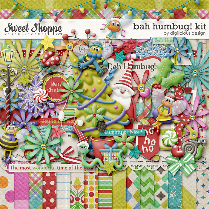 Bah Humbug Kit by Digilicious Design