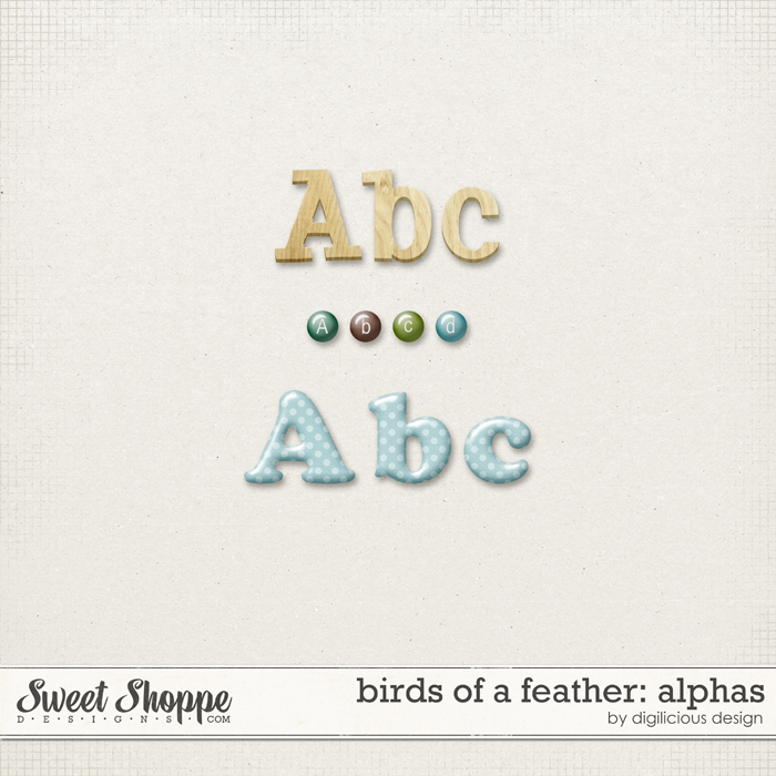 Birds Of A Feather Alphas by Digilicious Design