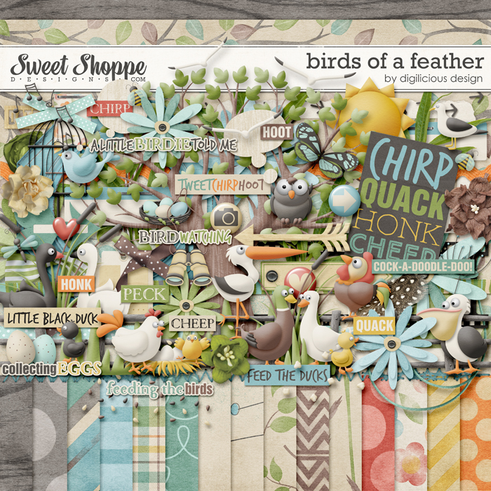 Birds Of A Feather by Digilicious Design