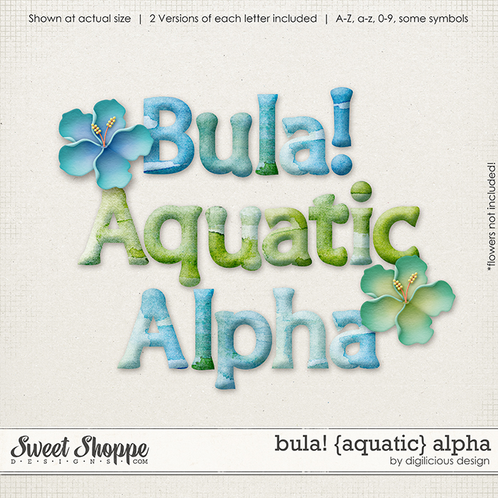 Bula! {Aquatic} Alpha by Digilicious Design