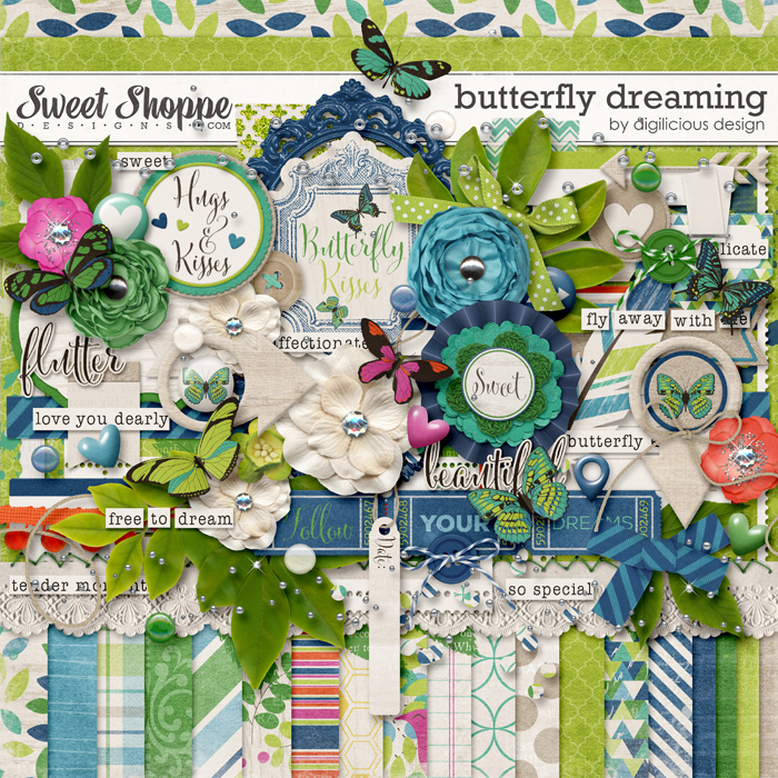 Butterfly Dreaming by Digilicious Design