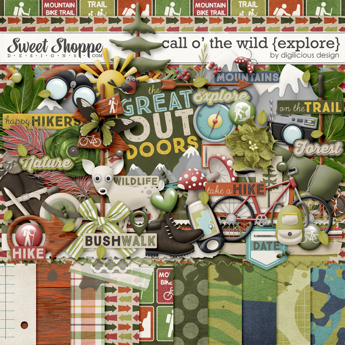 Call O' The Wild {Explore} by Digilicious Design