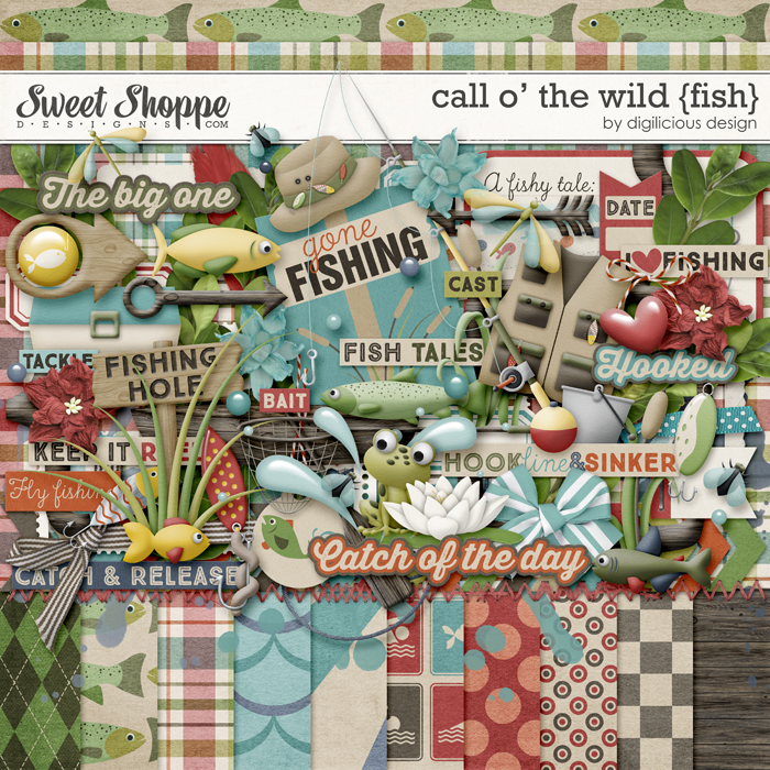 Call O' The Wild {Fish} by Digilicious Design