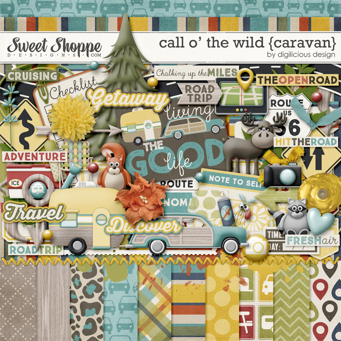 Call O' The Wild {Caravan} by Digilicious Design