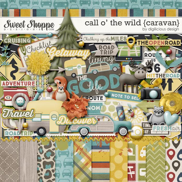 Call O' The Wild {Caravan} by Digilicious Design