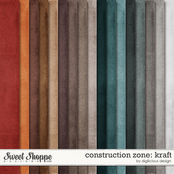 Construction Zone Kraft by Digilicious Design