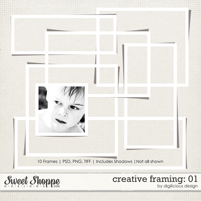 Creative Framing Vol 01 by Digilicious Design