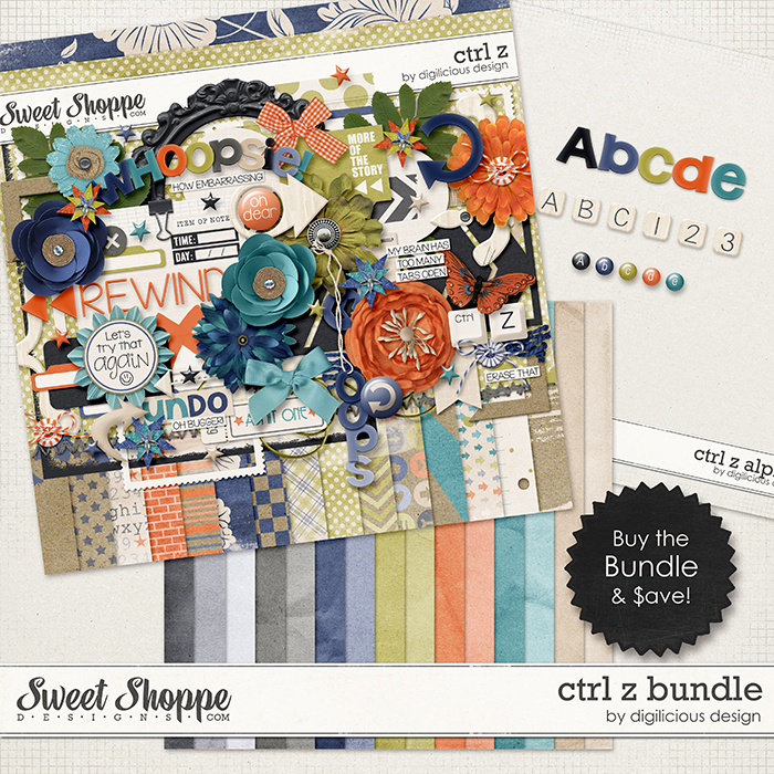 Ctrl Z Bundle by Digilicious Design