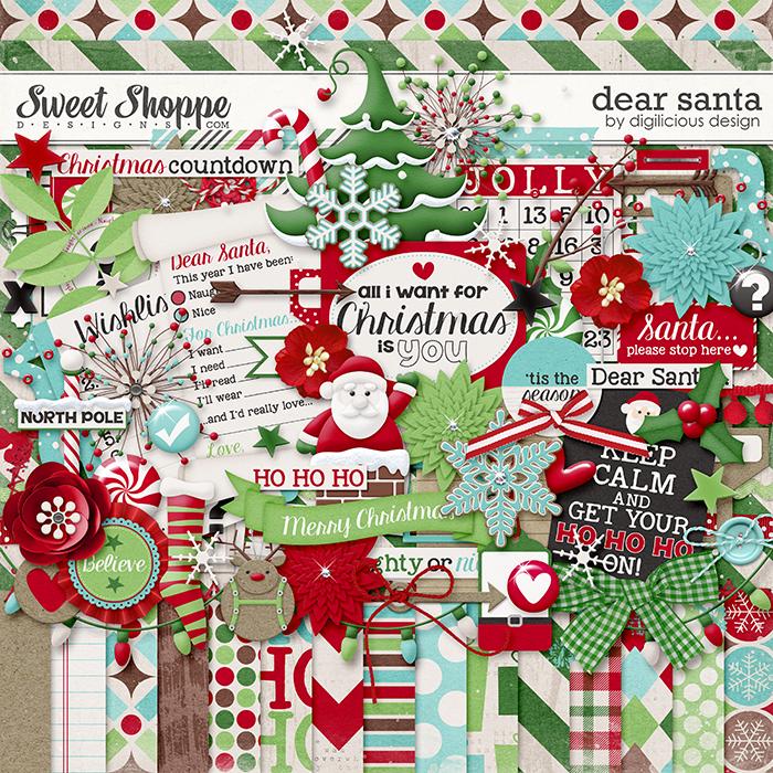 Dear Santa Kit by Digilicious Design