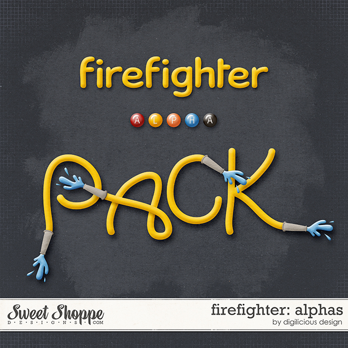 Firefighter Alphas by Digilicious Design