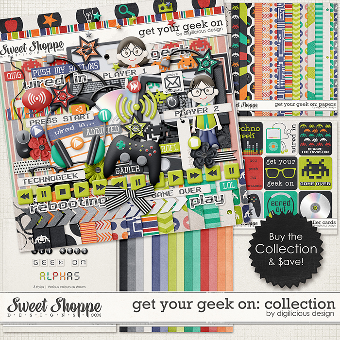 Get Your Geek On Collection by Digilicious Design