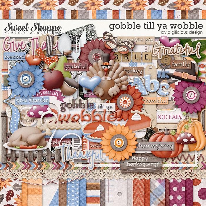 Gobble Till You Wobble by Digilicious Design