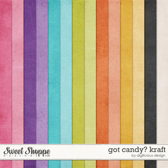 Got Candy? Kraft by Digilicious Design