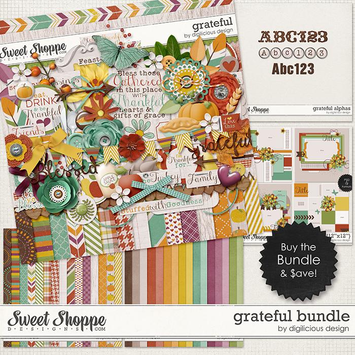 Grateful Bundle by Digilicious Design