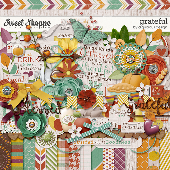 Grateful Kit by Digilicious Design