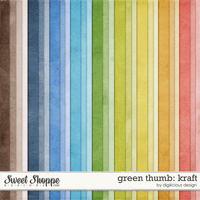 Green Thumb Kraft by Digilicious Design
