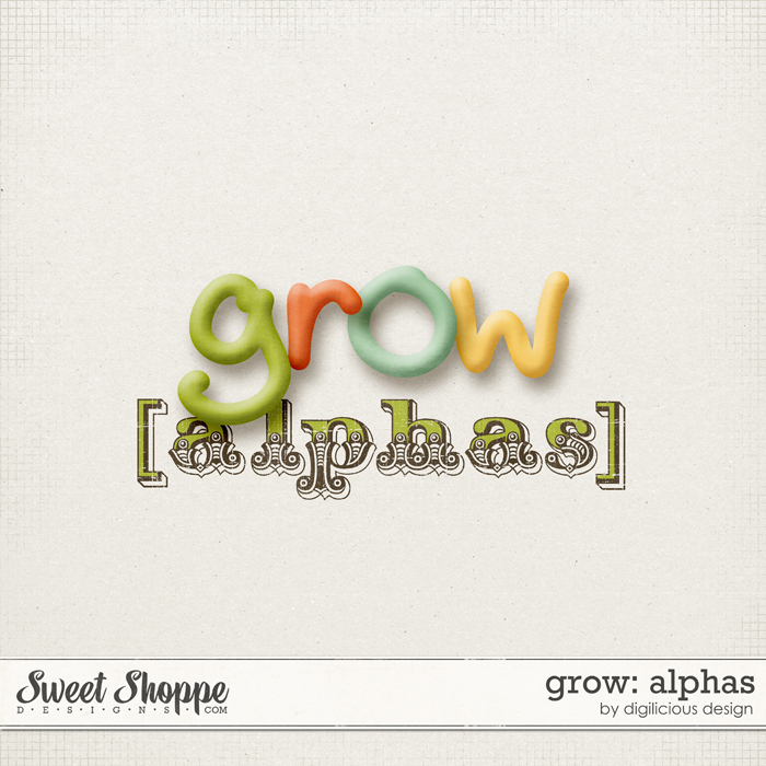 Grow Alphas by Digilicious Design