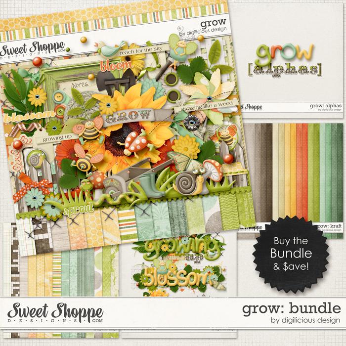 Grow Bundle by Digilicious Design
