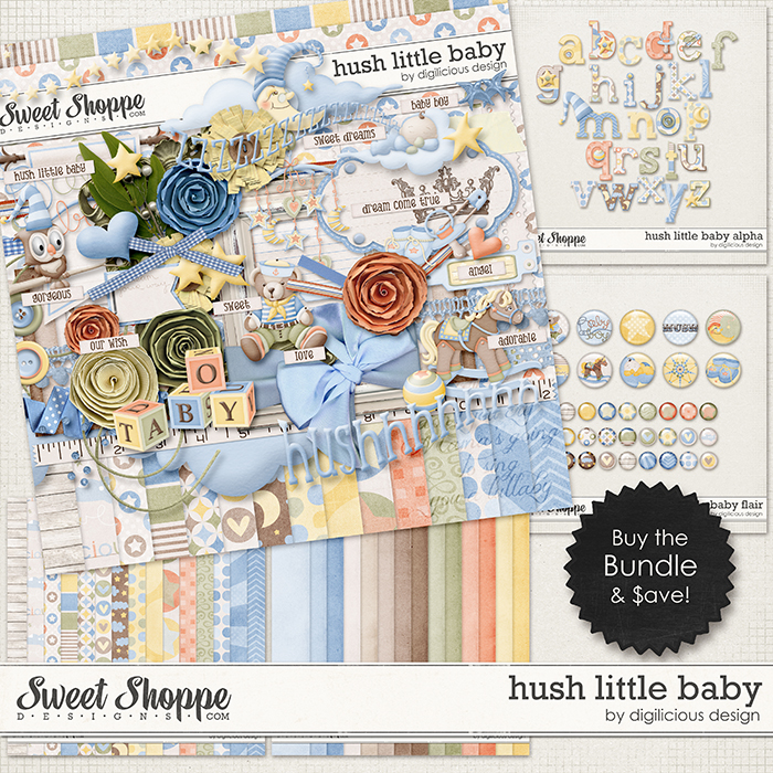 Hush Little Baby Bundle by Digilicious Design