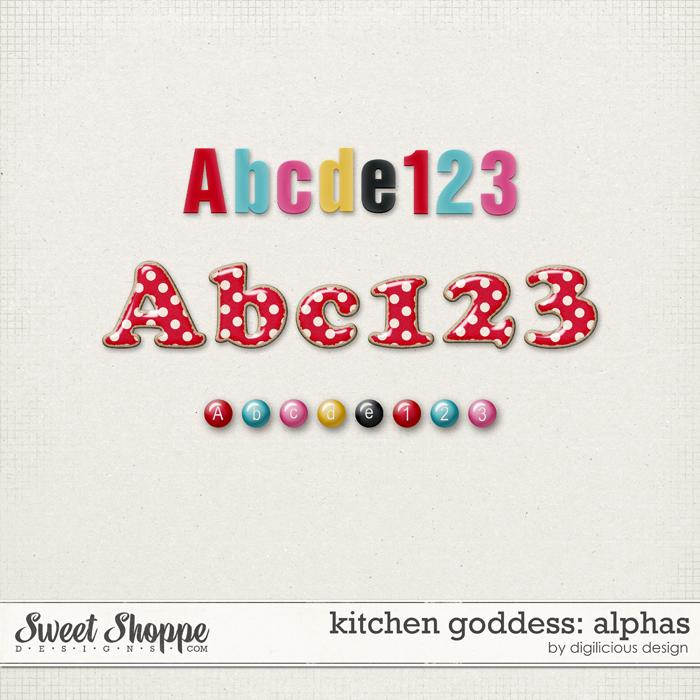 Kitchen Goddess Alphas by Digilicious Design