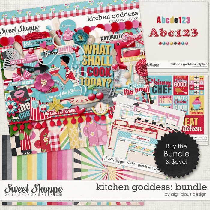 Kitchen Goddess Bundle by Digilicious Design
