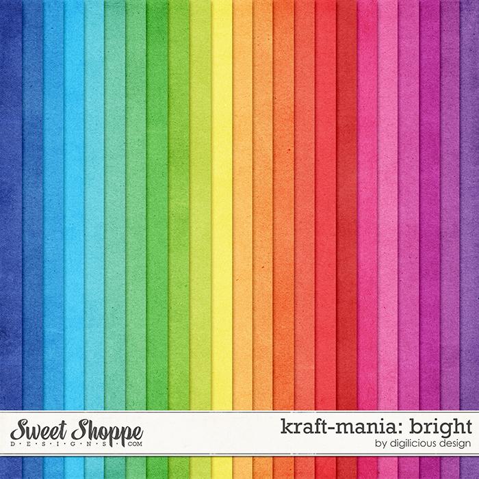 Kraft-mania: Bright by Digilicious Design