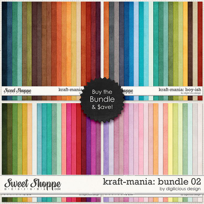 Kraft-mania: Bundle02 by Digilicious Design