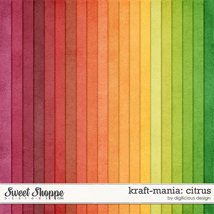 Kraft-mania: Citrus by Digilicious Design
