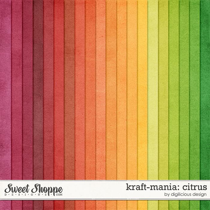 Kraft-mania: Citrus by Digilicious Design