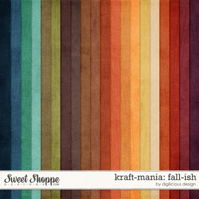 Kraft-mania: Fall by Digilicious Design