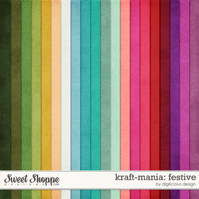Kraft-mania: Festive by Digilicious Design