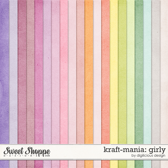 Kraft-mania: Girlie by Digilicious Design