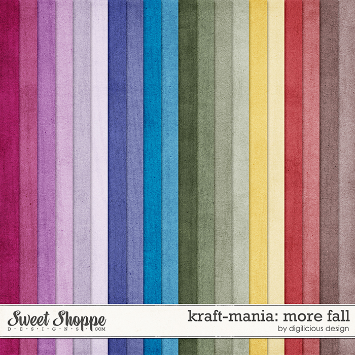 Kraft-mania: More Fall by Digilicious Design
