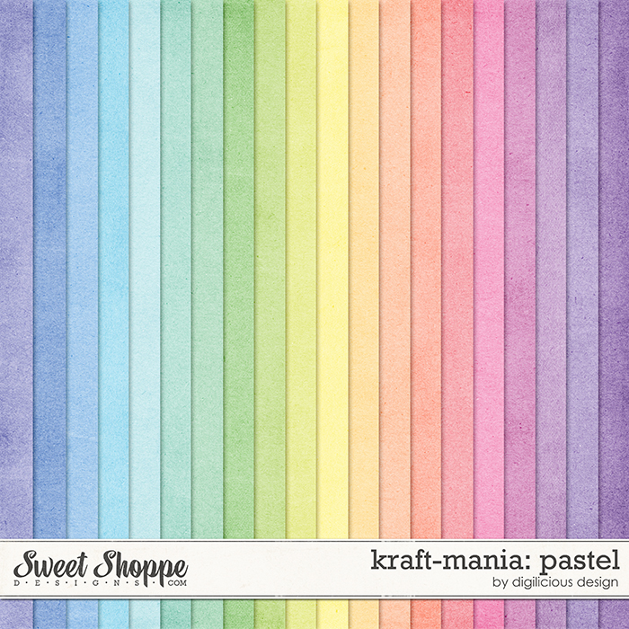 Kraft-mania: Pastel by Digilicious Design