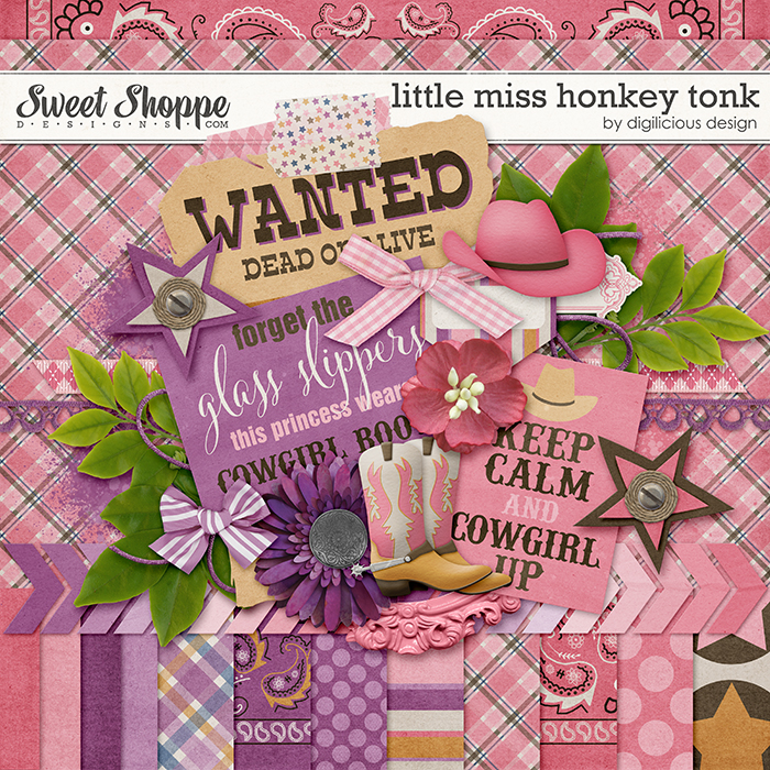 Little Miss Honky Tonk by Digilicious Design