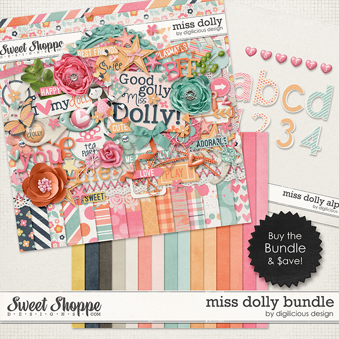 Miss Dolly Bundle by Digilicious Design