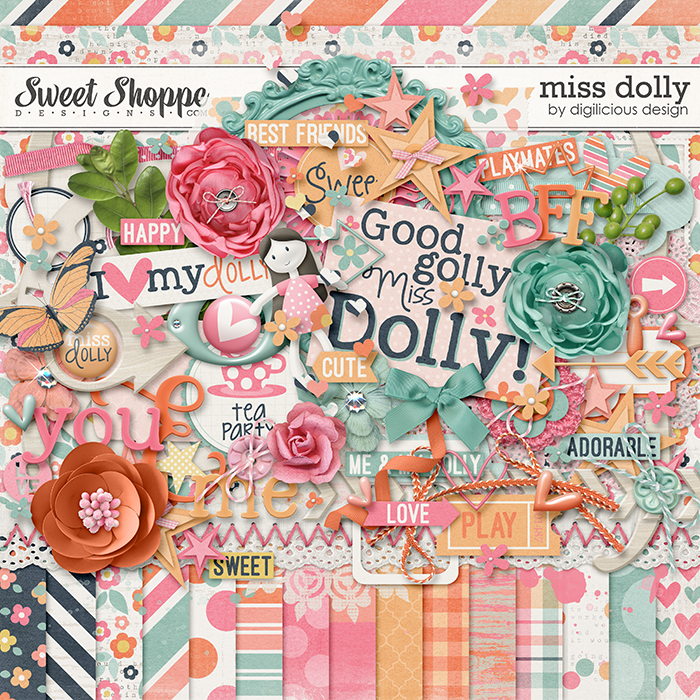 Miss Dolly Kit by Digilicious Design