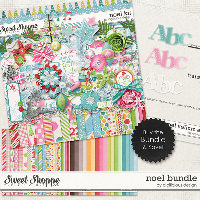 Noel Bundle by Digilicious Design