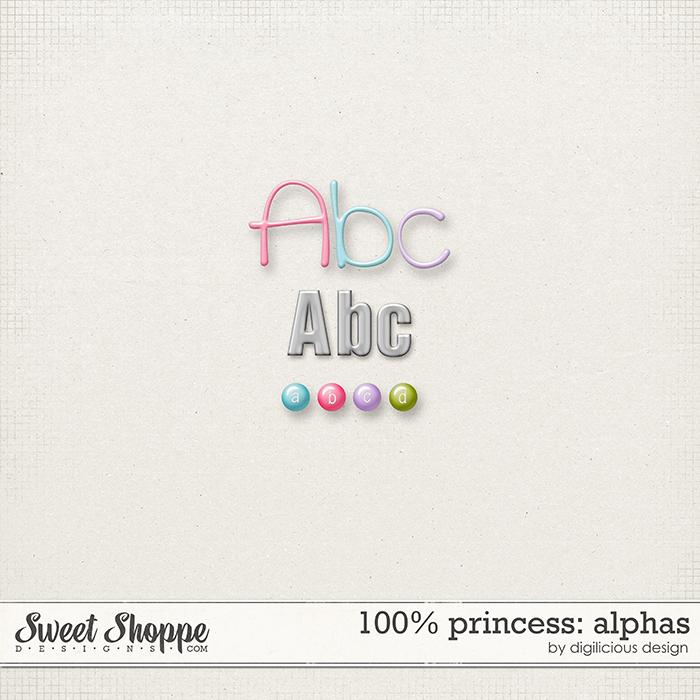100% Princess Alphas by Digilicious Design