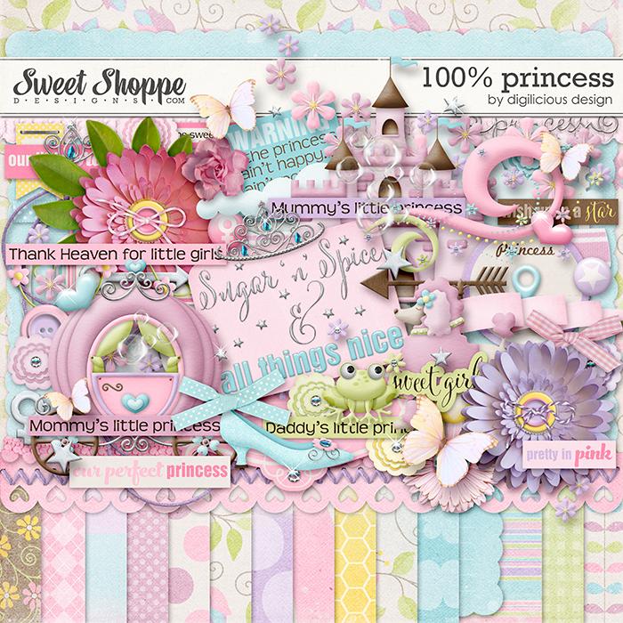 100% Princess by Digilicious Design