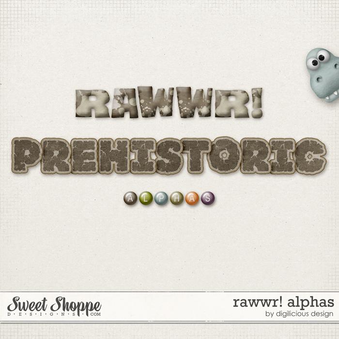 Rawwr Alphas by Digilicious Design